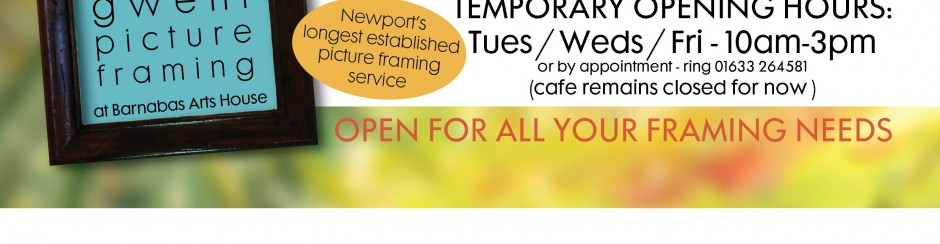 Gwent Picture Framing Reopens