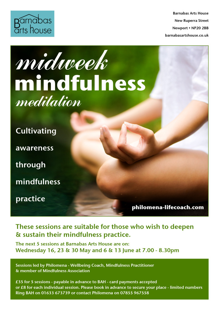 Midweek Mindfulness Meditation @ Barnabas Arts House | Wales | United Kingdom