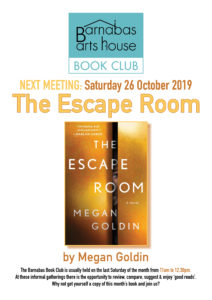 Barnabas Book Club-The Escape Room @ Barnabas Arts House | Wales | United Kingdom