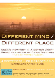 DIFFERENT MIND / DIFFERENT PLACE @ Barnabas Arts House | Wales | United Kingdom